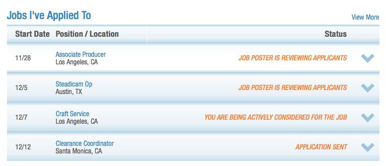 with our real time job application status tracker